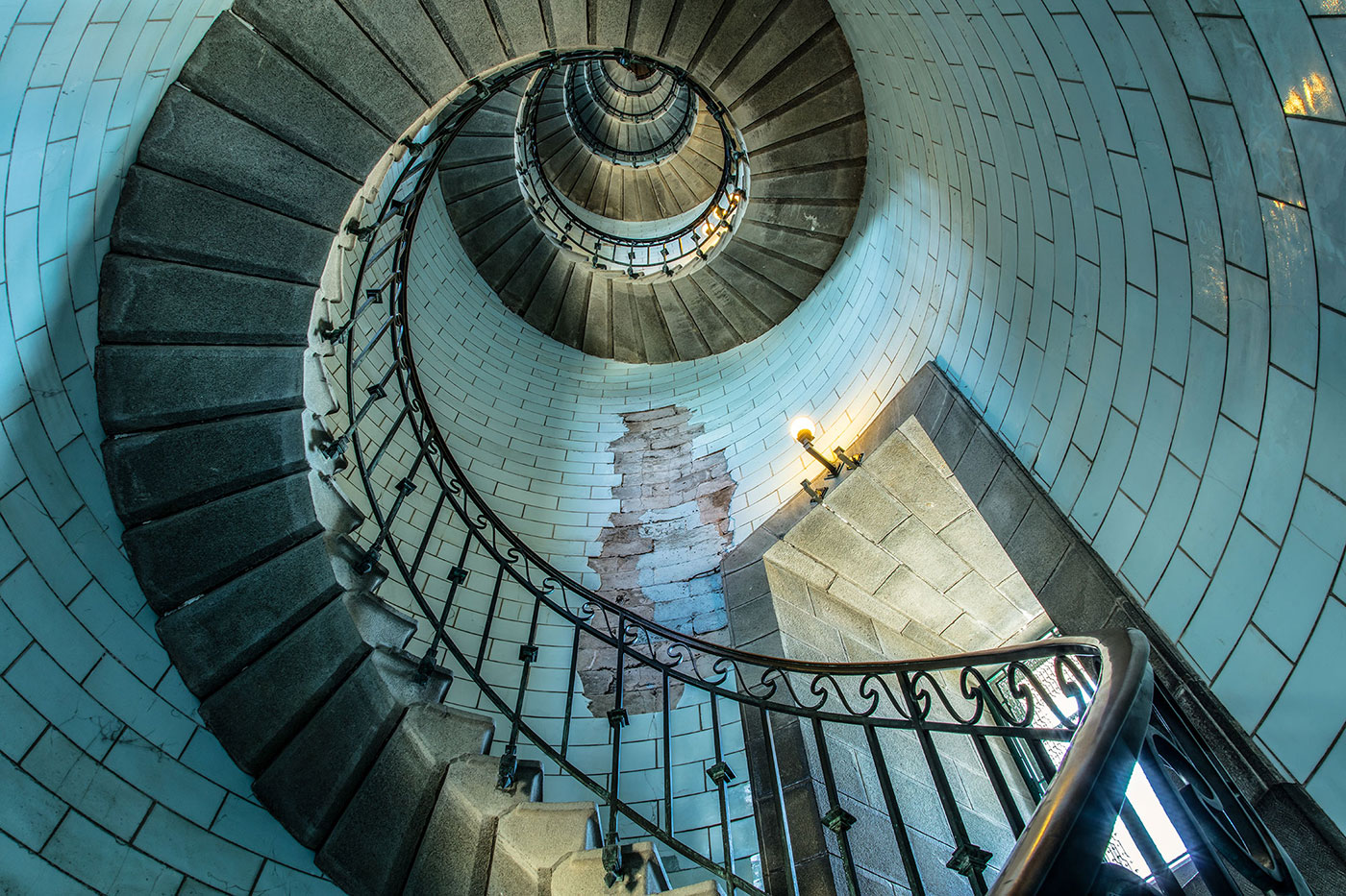 Old Lighthouse Staircase