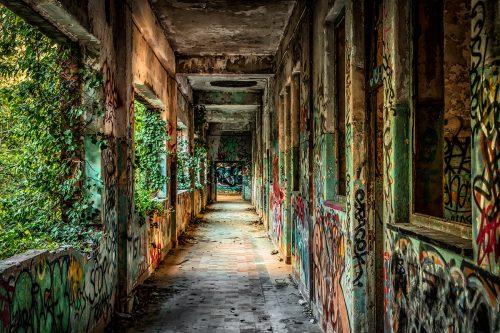 Abandoned Monestary