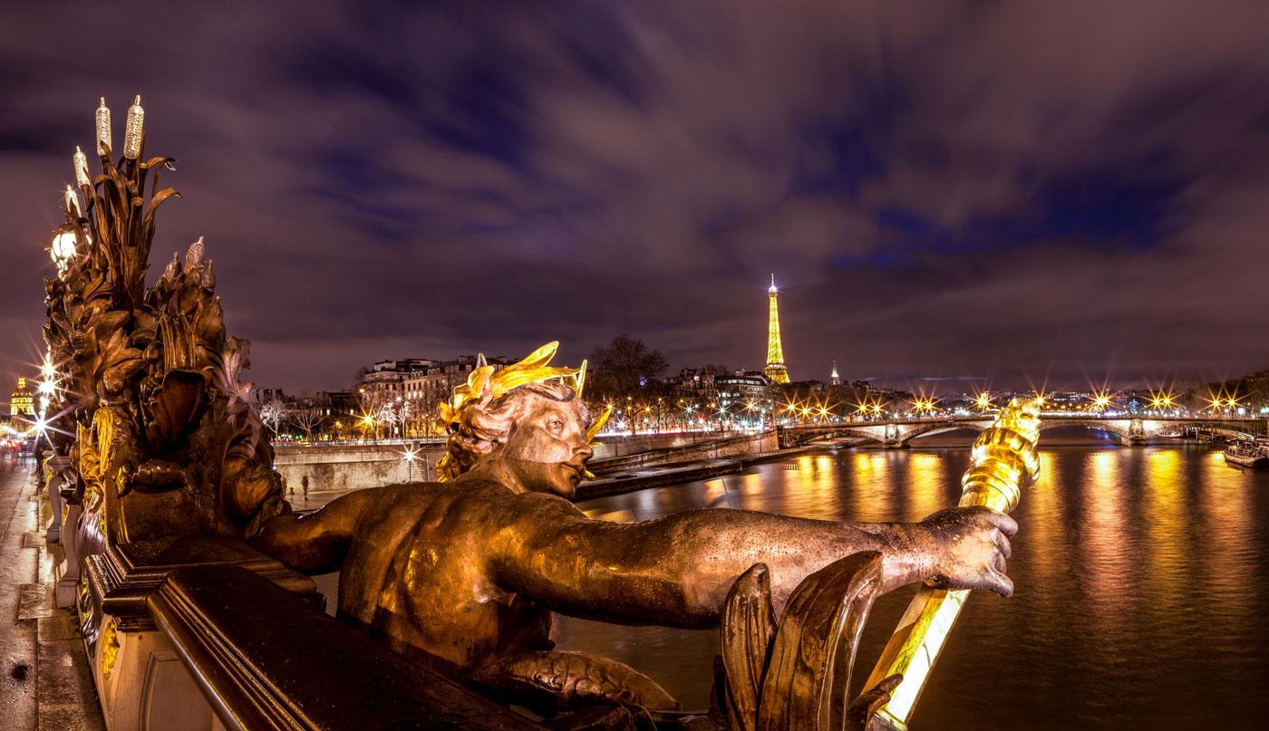 Transpiring Statue