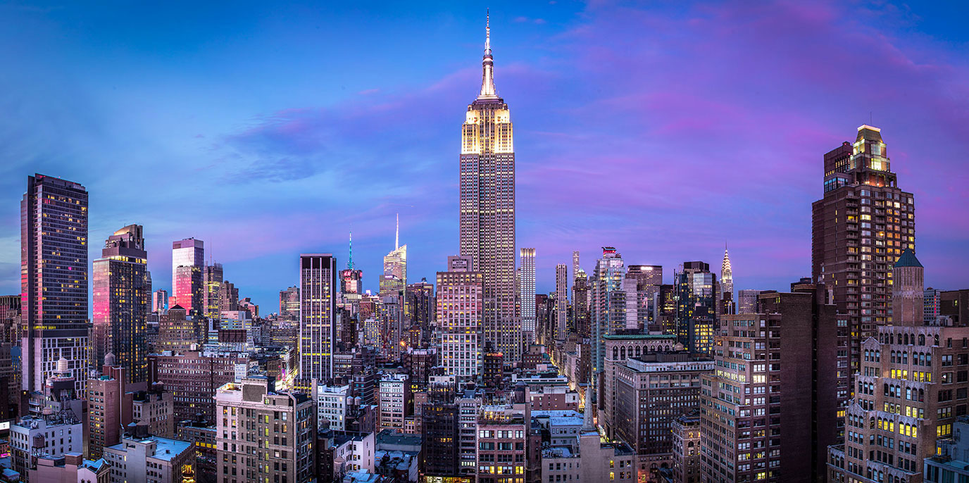 Unique View on Manhattan